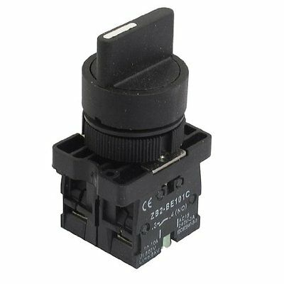 22mm Momentary 2 NO Three 3-Position Rotary Selector Select Switch ZB2-ED53