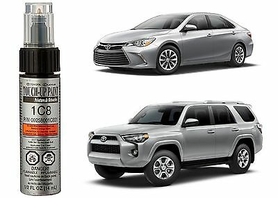 Genuine Toyota 00258-001C8-21 Silver Metallic Touch-Up Paint Pen New Free Ship