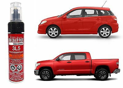 Genuine Toyota 00258-003L5-21 Red Touch-Up Paint Pen New Free Shipping USA