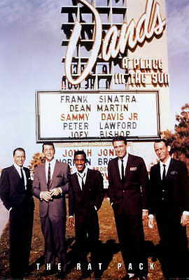 The Rat Pack Movie POSTER 27 x 40 Frank Sinatra Dean Martin  LICENSED U.S.A. NEW