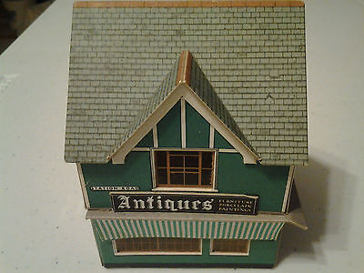 Antiques Shop and Supermarket Cardboard Stores