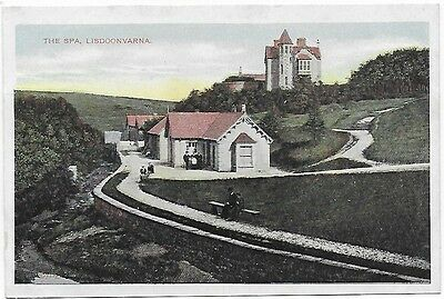Vintage Postcard.  The Spa, Lisdoonvarna. Co.Clare.  Unused.  Ref:7470