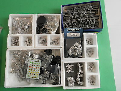 Warhammer 40k - Chaos Space Marines / Black Legion Army (42x mini) METAL OOP