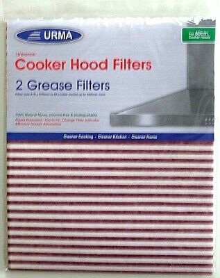 Universal Grease Cooker Hood Filters URMA Fit all Extractor Fans 60cm Indicator