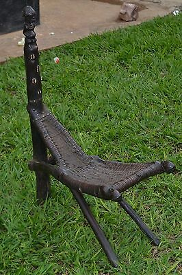 Very old bembe seating chair fromSoutheastern Congo (Zaire)
