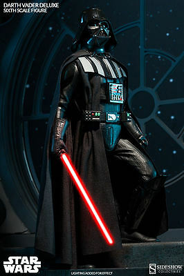 Sideshow Darth Vader Deluxe LED Sixth 1:6 scale figure Ep. 6 ROTJ Brand New
