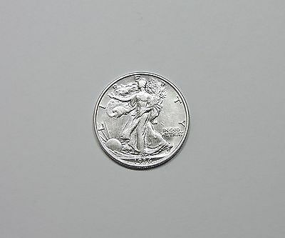 1936  Walking Liberty Silver Half Dollar AU Almost Uncirculated Condition 50c