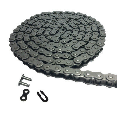 # 35 Roller Chain 10 Feet with 1 Connecting Link for Mini Bike Replacements