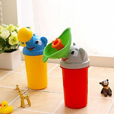 Portable Kids Children Urinal Car Travel Toilet Potty Training Pee Camping 500ML