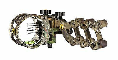 Trophy Ridge React 5 Pin Bow Sight Right Hand Camo