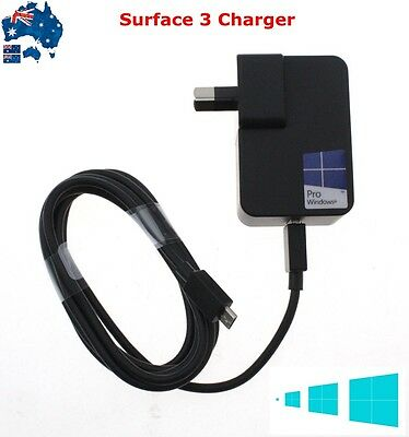 Genuine AC Adapter Power Supply Charger for Microsoft Surface 3 Windows Tablet