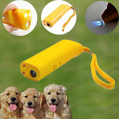 New Ultrasonic Anti Stop Barking Dog Training Repeller Control Trainer Device