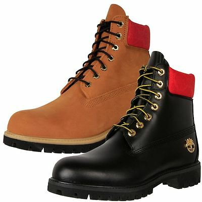 "New Timberland Men's Leather Wide Waterproof 6"" Premium Boots Cheap"