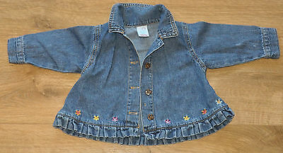 Long sleeve denim top  for 0-3 months old baby girl from Adams