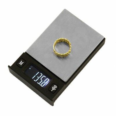 Poker Shape Fashion Digital LCD Display Portable Electronic Jewelry Scales I5