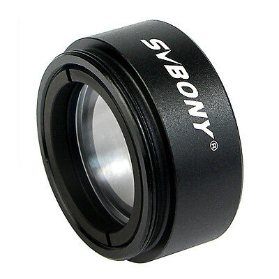 """1.25""""31.7mm Telescope 0.5X Focal Reducer Threaded for M28x0.6 Eyepiece US Stock"""