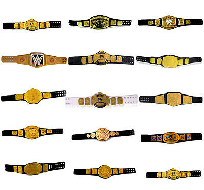 WWE World Heavyweight Championship Belt Toys Doll Figure Doubles Champion Belt