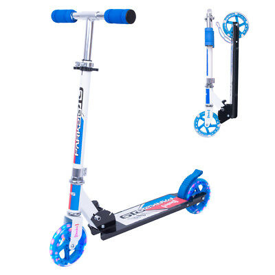Kinderroller Tretroller Scooter Cirky 145 mm LED Leuchtrollen Cityroller faltbar