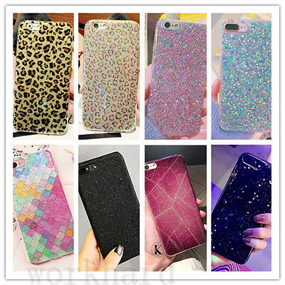 Luxury Glitter Sparkle Bling Girly Case For iPhone 7 Plus 6s Plus Back Cover