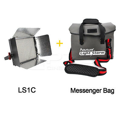 Aputure LS1C Light Storm LED Lighting Kit With Waterproof Reinforced Carry Bag