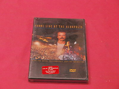 Dvd Yanni Live At Acropolis New Sealed
