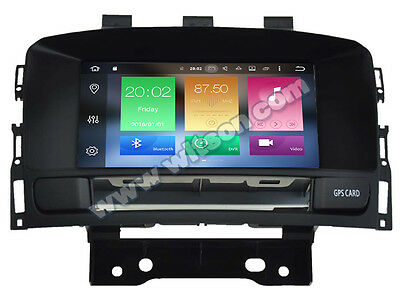 AUTORADIO touch Android 6.0 Opel Astra J Navigatore Gps usb Canbus Bluetooth