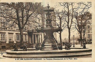 63 Clermont-Ferrand Fontaine Monumentale