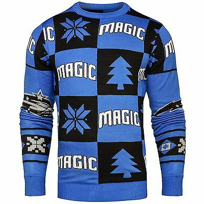 Adult 2XL Orlando Magic 2016 Patches Ugly Jumper H227