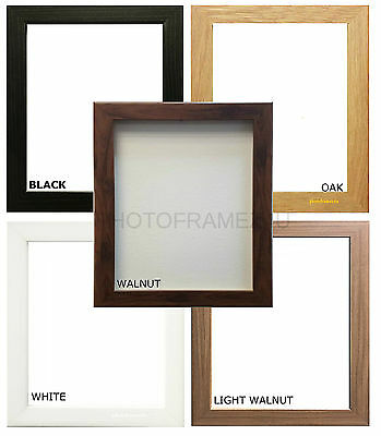Picture Frame  Photo Frame Wood Wooden Effect Square & Rectangle Sizes Available