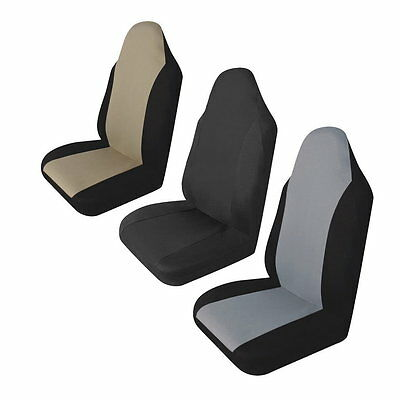 Universal Car Front Rear Seat Covers Cushion Pad for Crossovers SUV Sedan CN