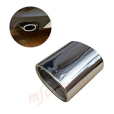 Fit For BMW X3 20i 20d Chrome Tail Throat Muffler Exhaust Rear Pipe End Tip Trim
