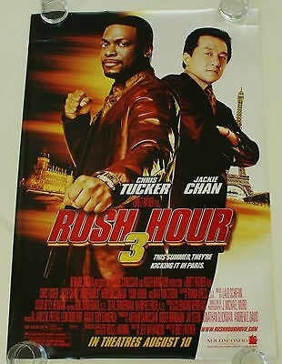 Rush Hour 3 27X40 Ds Movie Poster One Sheet New Authentic
