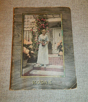 Antique 1912 Eastman KODAK Camera PHOTO Dealers Trade CATALOG 64pgs Brownie ++