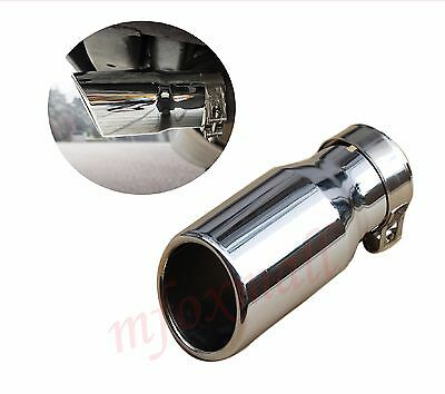 Chrome Tail Pipe End Tip Silencer Muffler Exhaust For Jeep Wrangler 2007-2016
