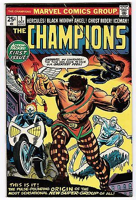 Lot of 9  Champions #1 and #3-10 (Oct 1975 - Jan 1977, Marvel)