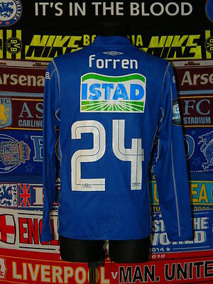 4.5/5 Molde adults XL #24 Forren 2009 football shirt jersey trikot skjorta