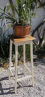 plant stand, vintage French lamp table, Edwardian painted plant stand