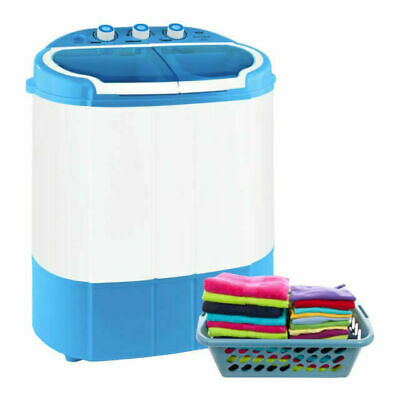 Electric Portable Washer & Spin Dryer Mini Washing Machine and Spin Drying Tw...