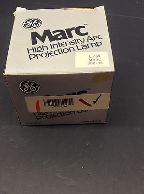 General Electric Projection Lamp Marc-300/16 High Intensity Ezm (Pl-B13)