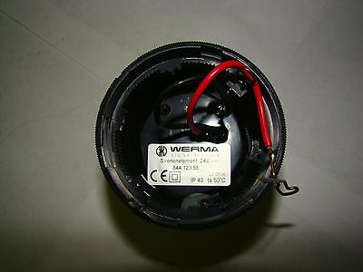 1pc. Werma 844 123 55 Sirenenelement Alternating 24V, Used