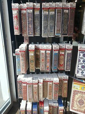 25 Pcs. Turkish Rug Carpet Design Woven Bookmarks