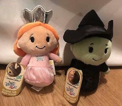 Rare Hallmark Itty Bitty Bittys - Wicked Witch / Glinda Set - New With Tags
