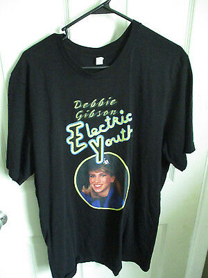1980's Vintage Debbie Gibson Electric Youth Tshirt Size 2XL Canvas Tag