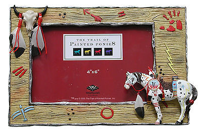 Trail of Painted Ponies WAR PONY Photo Frame