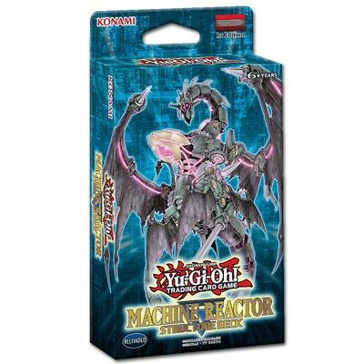 KONAMI Yu-Gi-Oh! Machine Reactor - Structure Deck (DE)