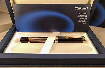 2013 Special Edition Pelikan M800 Tortoise Brown  Fountain pen 18k Gold Nib Rare