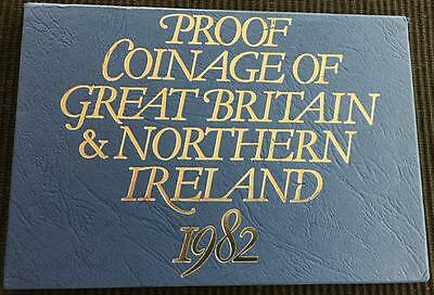 1982 The Coinage Of Great Britain And Northern Ireland Proof Coin Set