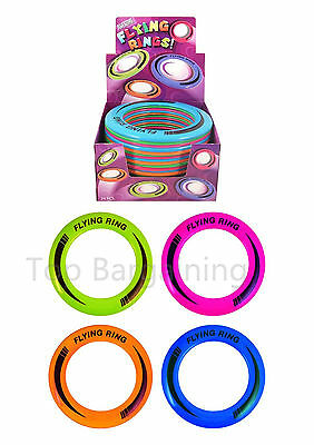 2* Coloured  Flying Frisbee Ring Fun Summer Play New Pet DISC Dog Toys Outdoor