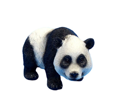 Small Panda Bear Figurine Wildlife Statue A