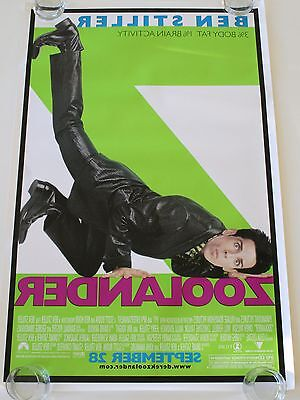 Zoolander 27X40 Ds Movie Poster One Sheet New Authentic